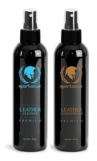 Leather Cleaner & Conditioner 2 pack (2 oz)