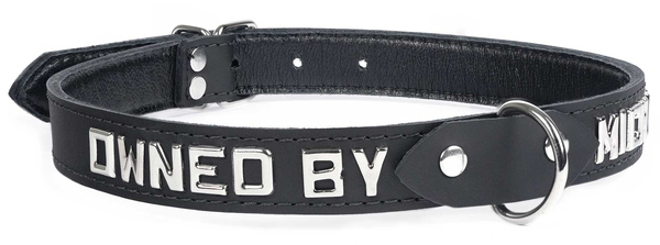 custom collar-owned by
